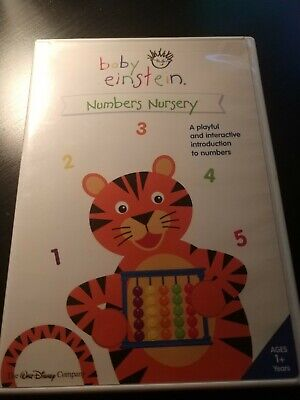 Baby Einstein: Numbers Nursery (DVD, 2003)!!!