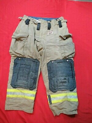 Mfg 2011 Morning Pride Fire Fighter Turnout Pants 36 X 28 Bunker Gear