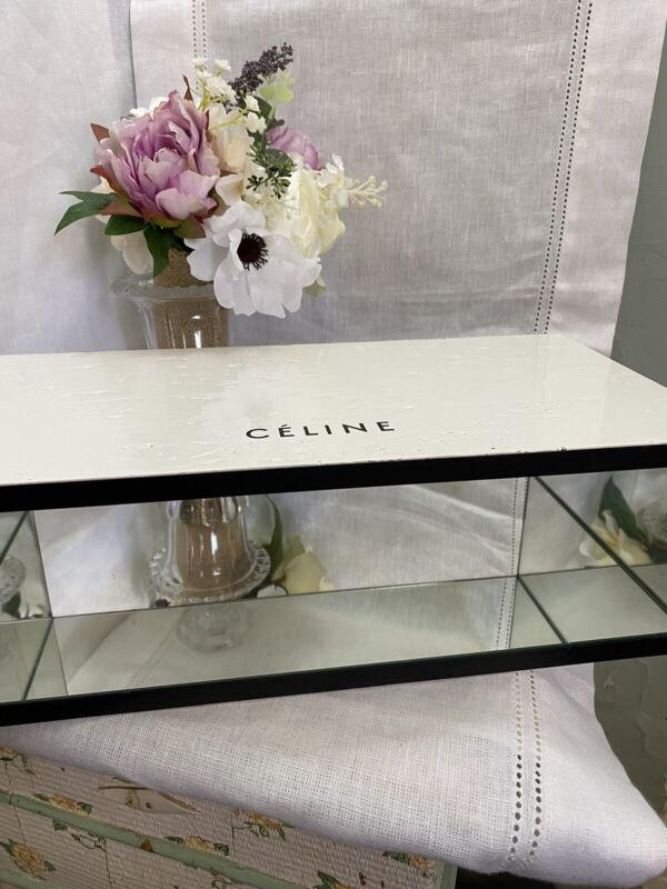 Excellent Authentic Celine Store Mirrored Display Piece For Handbag