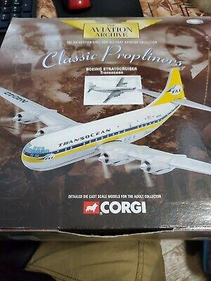 1/144 corgi aviation archive Transocean Boeing Stratocruiser #48106 N4040