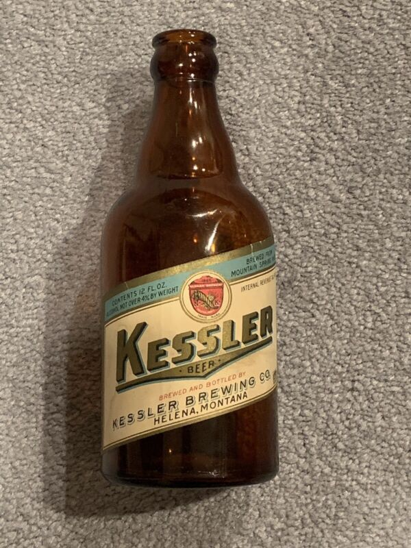 1930s  MONTANA Helena KESSLER BEER Steinie Bottle