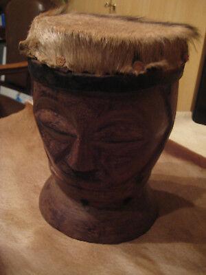 Afrikanische Trommel mit Springbockfell bespannt online kaufen