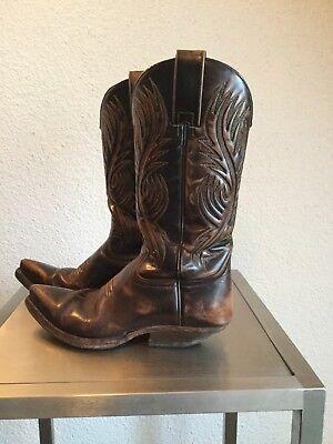 Original SENDRA Vintage 80er Jahre Boots Cowboy Stiefel Stiefeletten Gr. 37-37,5