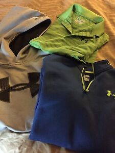 Under armour Sweat Shirts. YXL - Great Condition!