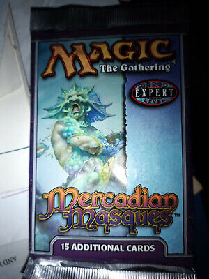 MTG Mercadian Masques Sealed Booster Pack English - Magic the Gathering