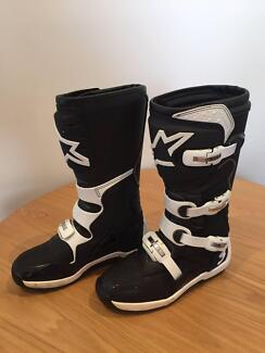 AlpineStars Motor cross boots - only used once!