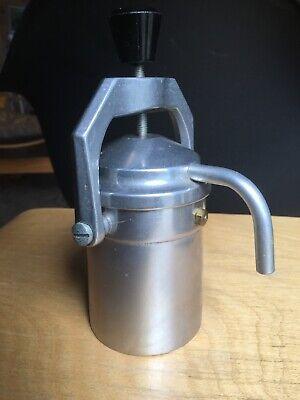 Vintage Stove Top Expresso Maker Aluminium - Bake Lite Knob - Moka Pot