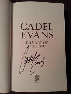 CADEL EVANS - The Art of Cycling - Autobiography Book Signed