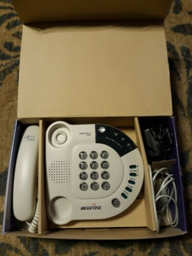 ::Mirafone Opentech 0P201 Hearing Impaired Telephone Direct Vibe New