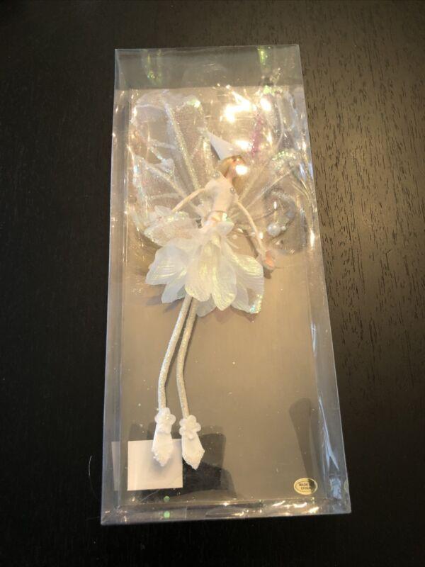 Fairy Doll Ornament, KF0501, 10 inch, White