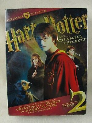 """Harry Potter And The Chamber Of Secrets Ultimate Edition Year 2 """"SEALED"""""""