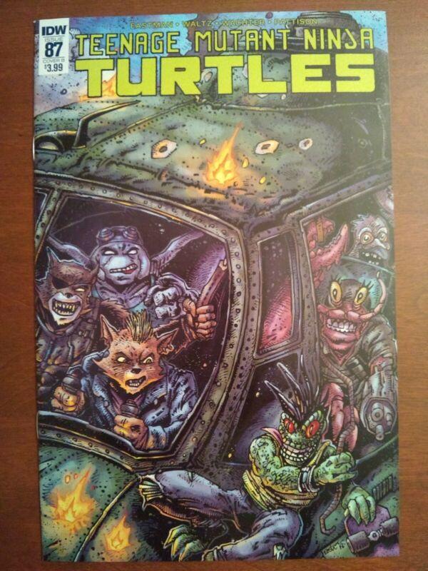 Teenage Mutant Ninja Turtles #87 Comic Cover B Eastman Waltz Wachter Pattis