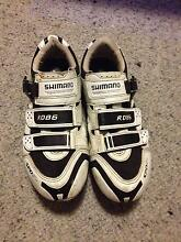 Shimano RO86 cycling shoes + SPD SL pedals