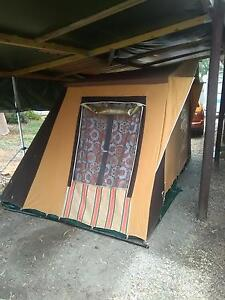 Canvas tent, steel frame Two Wells Mallala Area Preview