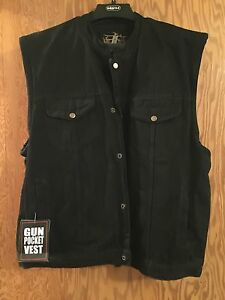 Bikers Edge Gun Pocket Vests 2xl and 3xl