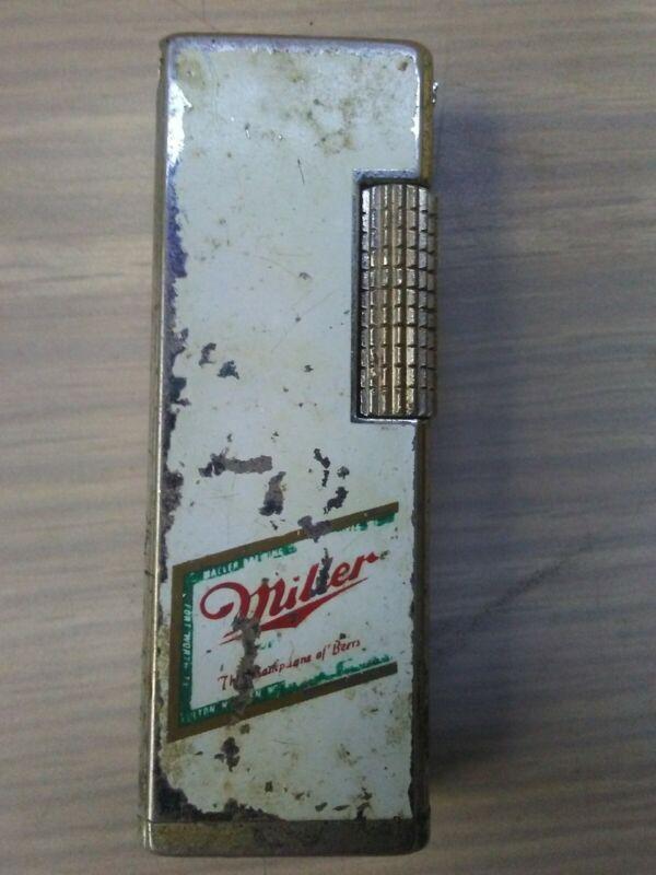 Vintage Miller Lite Advertising Lighter Rollalite Style Lilly Korea.Used