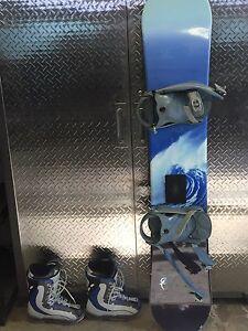 Snowboard/boots/bindings