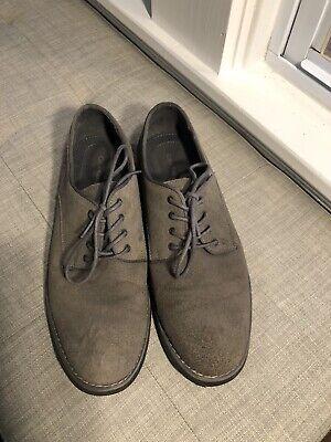 Calvin Klein Men's Suede Shoes Grey Size 10.5