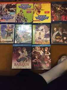 Anime lot for sale! DVD and bluray with some brand new!