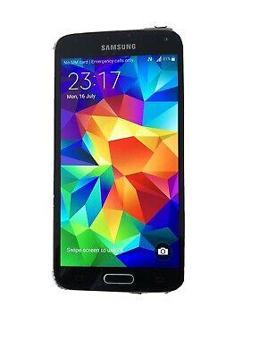 Samsung Galaxy S5 SM-G901F - 16GB - Black/ Grey (Unlocked) Smartphone