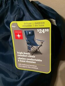 Brand New Tera Gear Deluxe Outdoor High Back Comfort Chair
