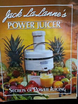Jack LaLanne's Power Juicer  for sale  Pearl River