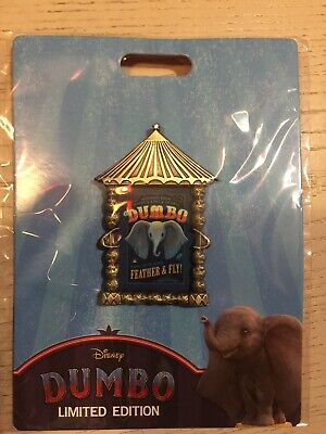 Disney Dumbo Poster LE 300 Pin Studio Hollywood DSSH DSF Magnificent Trade Event