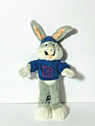 "Warner Bros Studio Bugs Bunny Plush 16"" Acme Sport Blue Shirt Hat Looney Tunes"