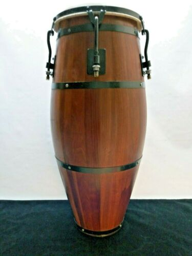 Vintage-Rare Jay Bereck QUINTO conga drum. Handmade 1986. Singed by Jay Bereck