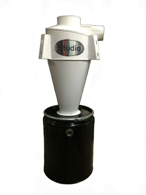 Clearance sale High Efficiency Cyclone Dust Collector White FM