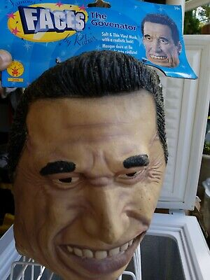 Arnold Schwarzenegger Costume (THE GOVENATOR Arnold  Schwarzenegger Costume Mask rubies 50% off! final sale)