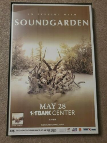 SOUNDGARDEN tour poster 11×17 Chris Cornell