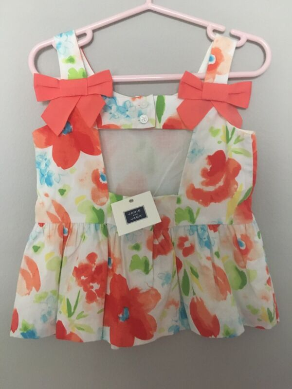 NWT Janie And Jack Girls Top Size 3