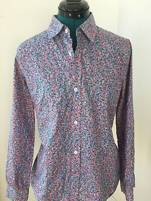 A.P.C. Liberty print cotton blouse L
