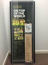 2015 ICC CRICKET WORLD CUP AUSTRALIA CHAMPIONS TEAM SIGNED BAT. Tarragindi Brisbane South West Preview