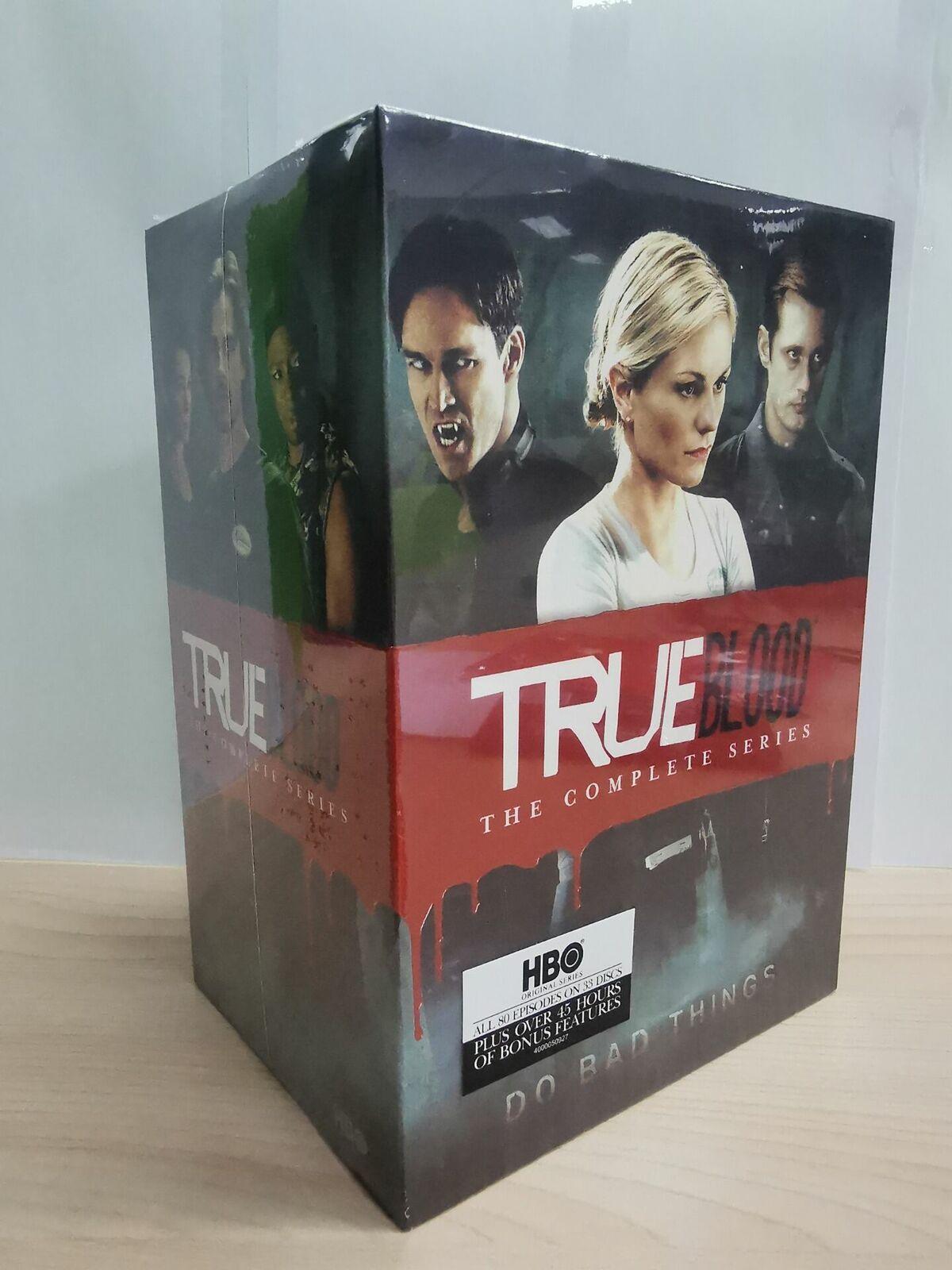 TRUE BLOOD THE COMPLETE SERIES SEASONS 1-7 DVD, 2014, 33-Disc Set  - $62.50