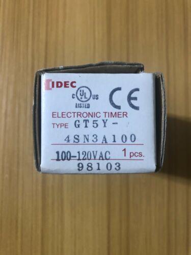 NEW! Idec GT5Y-4SN3A100 Timer