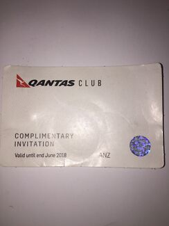 Qantas Club Pass - Up till Jun 2018