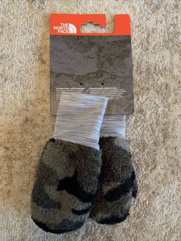Nwts The North Face Toddler 3T Osilito Mittens Camo Taupe/Green