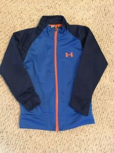 Boys Under Armour Zip Up