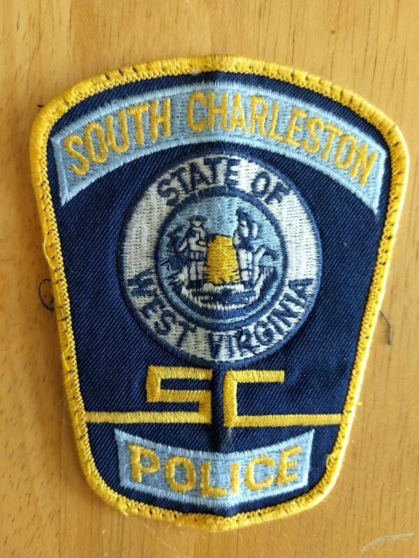 SOUTH CHARLESTON, WEST VIRGINIA POLICE SHOULDER PATCH WV - UNIFORM TAKEOFF
