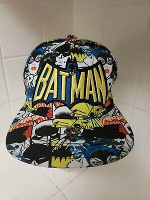 Catwoman Hat (Rare Batman Super Hero Snapback Hat DC Comics Baseball Cap Robin Catwoman)