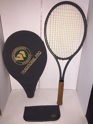 RARE Wimbledon Tradition Pro Size 98 4 1/4 Tennis Racquet Head Cover & Wallet