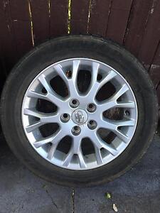 Toyota Corolla tyres & rims x 3 Dalkeith Nedlands Area Preview