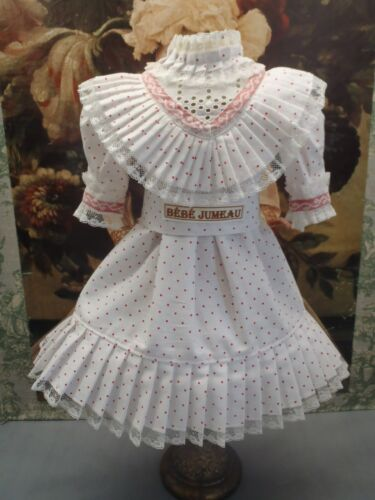 "French Cotton Chemise BEBE Doll Dress for your favorite 21-22"" Doll"