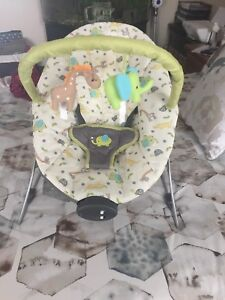 Bouncer vibrates and music