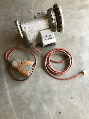 Ridgid 300 Pipe Threader Power Head With Foot Pedal
