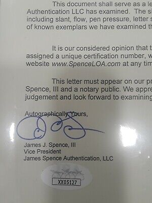Herbert Hoover JSA Coa Signed Letter Autograph