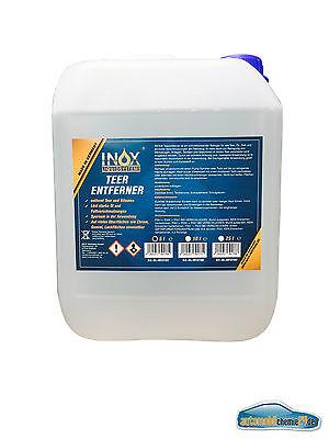 INOX® Teerentferner, 5L - Lackreiniger, Teer-, Klebstoff- und Bitumenentferner