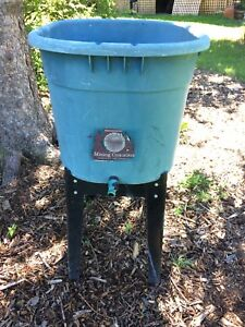 Compost Tea Container & Stand